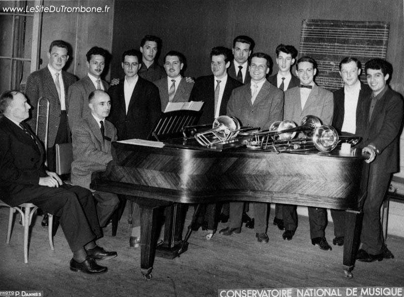 1959 : Jean-Claude BARBEZ / Jean GUIOTTE / Gui VIEL / André VAISSE / Bernard RINGEVAL / Pierre VANDOMBER / Luigi LONGO / Vinko GLOBOKAR / Christian SANTER / Marc STECKAR / Guy BRISVILLE / Christian GUIZIEN / Camille MERLIN (accompagnateur)