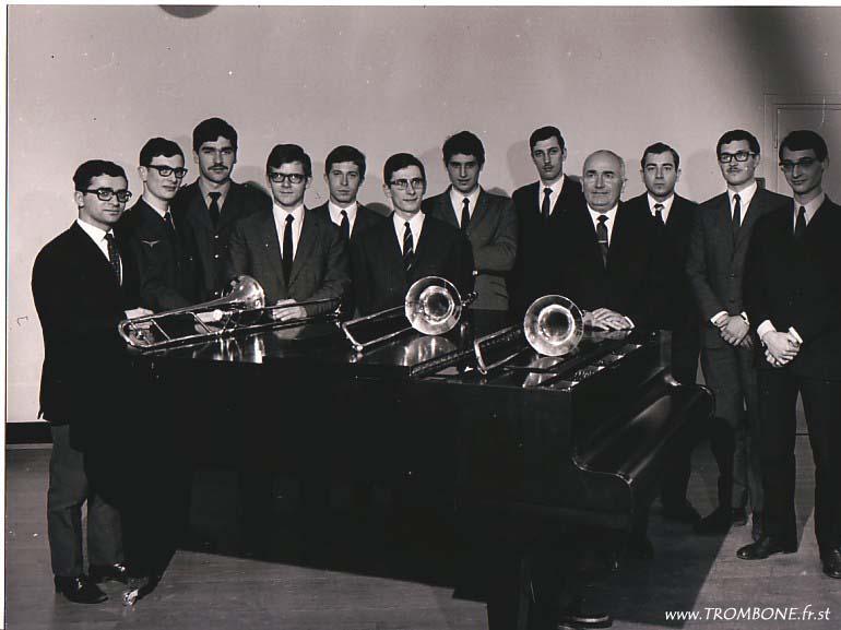 1967 : André ANNELI / Gilles MARILLIER / Christian MARCHAND / Daniel BRULEY / Alain RECORDIER / André SIOT / Jacques FOURQUET / SANTER / Gérard PICHAUREAU (professeur) / Claude BLANDIN / Jean JEUDI / François GARCIA